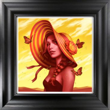 Allison Reimold - Desert Rose (Framed)