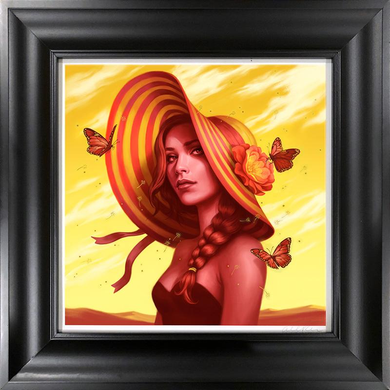 Allison Reimold - Desert Rose (Framed)