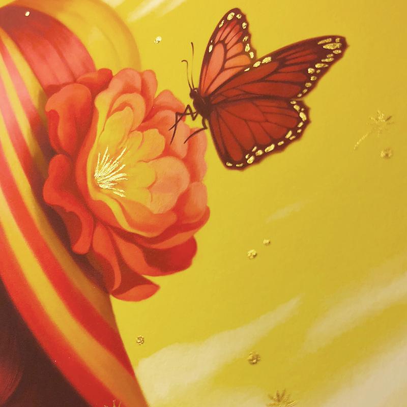 Allison Reimold - Desert Rose (Shiny Gold Embellisments)