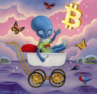 Ana Bagayan - Bitcoin Baby Blues