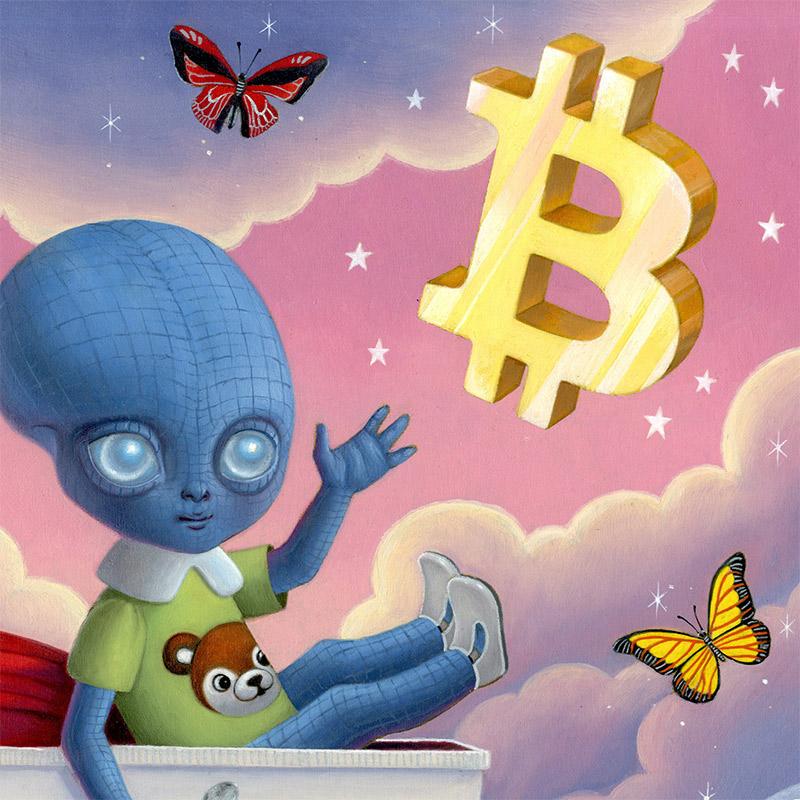 Ana Bagayan - Bitcoin Baby Blues (Detail 1)