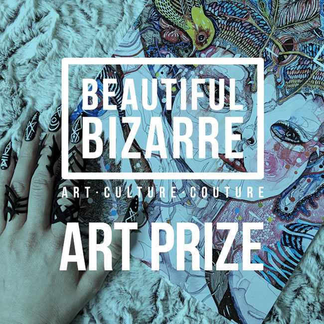 Beautiful Bizarre Magazine Art Prize 2018 – WOW x WOW Shout Out!