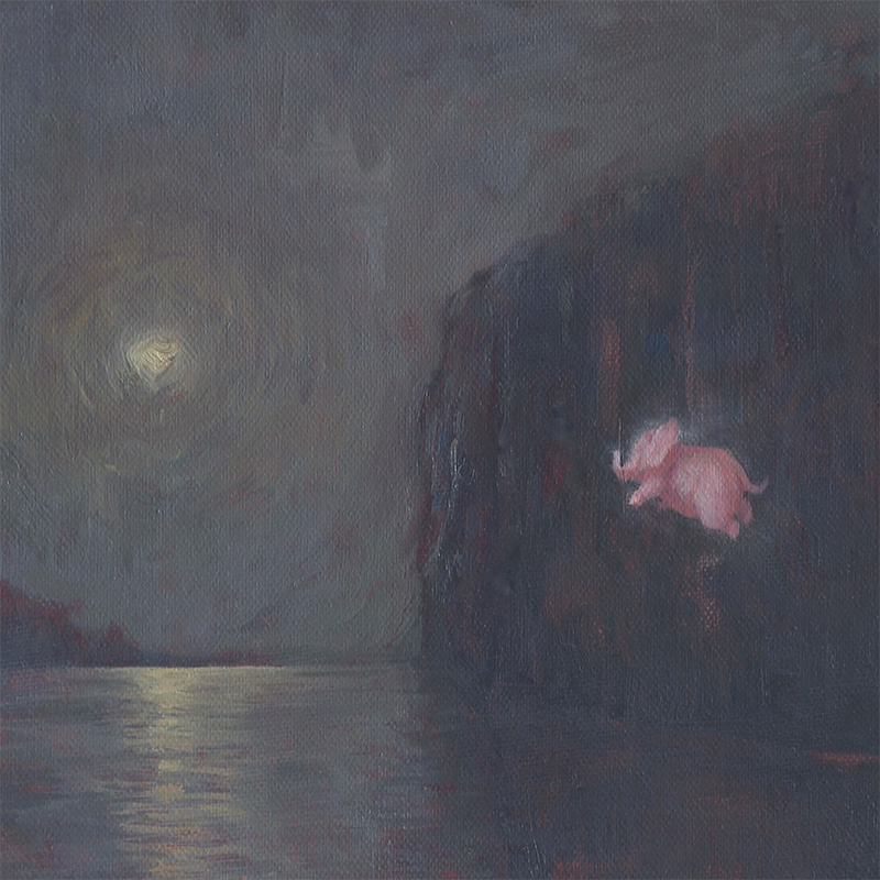 Brad Gray - The Moon and Six Pounds (Detail 1)