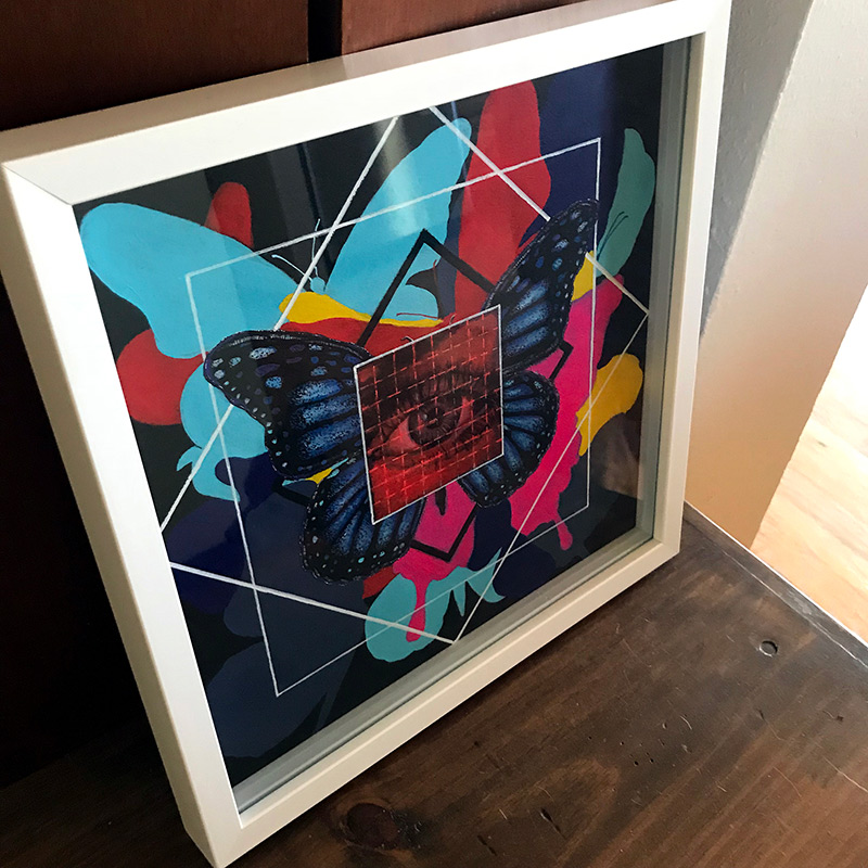 Colin Frangicetto - LSD-25 (Framed - Side)