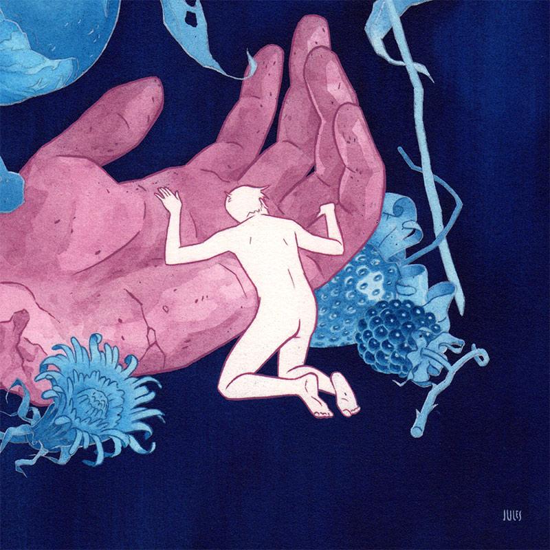 Julian Callos - Embrace (Detail 2)
