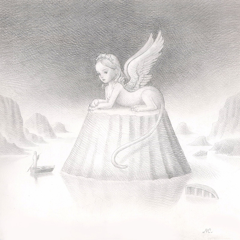 Nicoletta Ceccoli - The White Sphinx