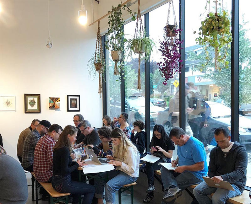 Nucleus Portland - Drink & Draw
