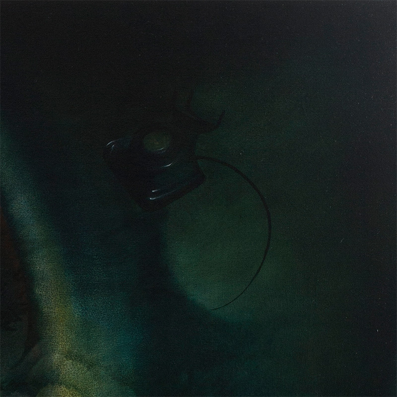 Peter van Straten - A Call Unanswered Rings Forever (Detail 2)