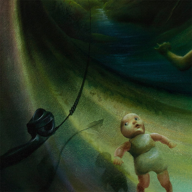 Peter van Straten - A Call Unanswered Rings Forever (Detail 5)