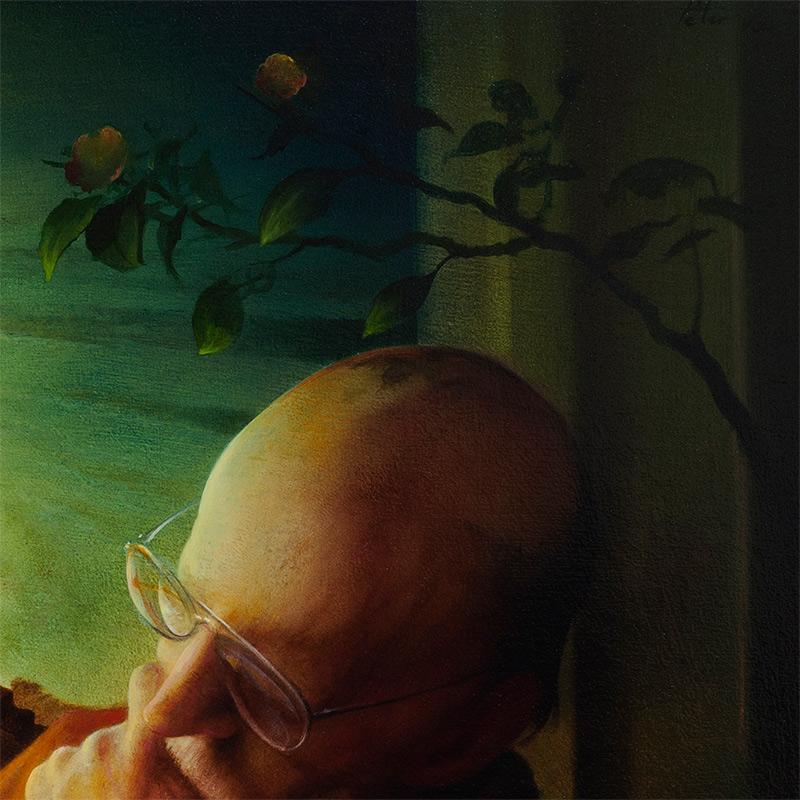 Peter van Straten - The Great Poet Van Rensburg (Detail 2)