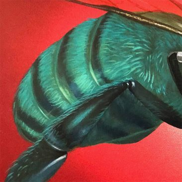 Robert Bowen - Trouble in Torquoise (Detail 1)