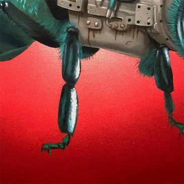 Robert Bowen - Trouble in Torquoise (Detail 2)
