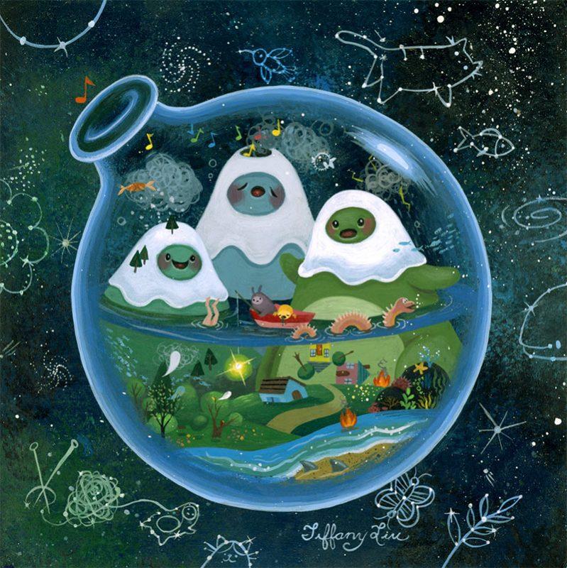 Tiffany Liu - A Crazy World