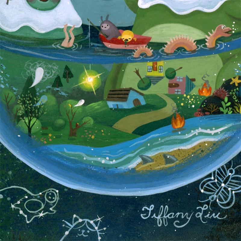 Tiffany Liu - A Crazy World (Detail 2)
