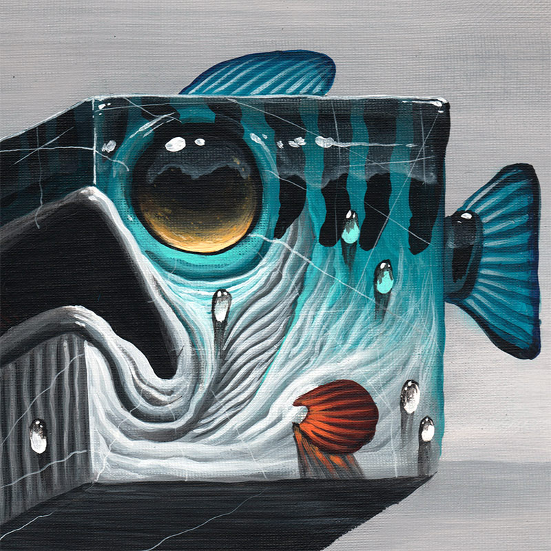Veks Van Hillik - Le Gros Cube (Detail)