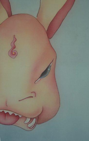 Alice Lin - Rabbit Vajra (Detail 2)