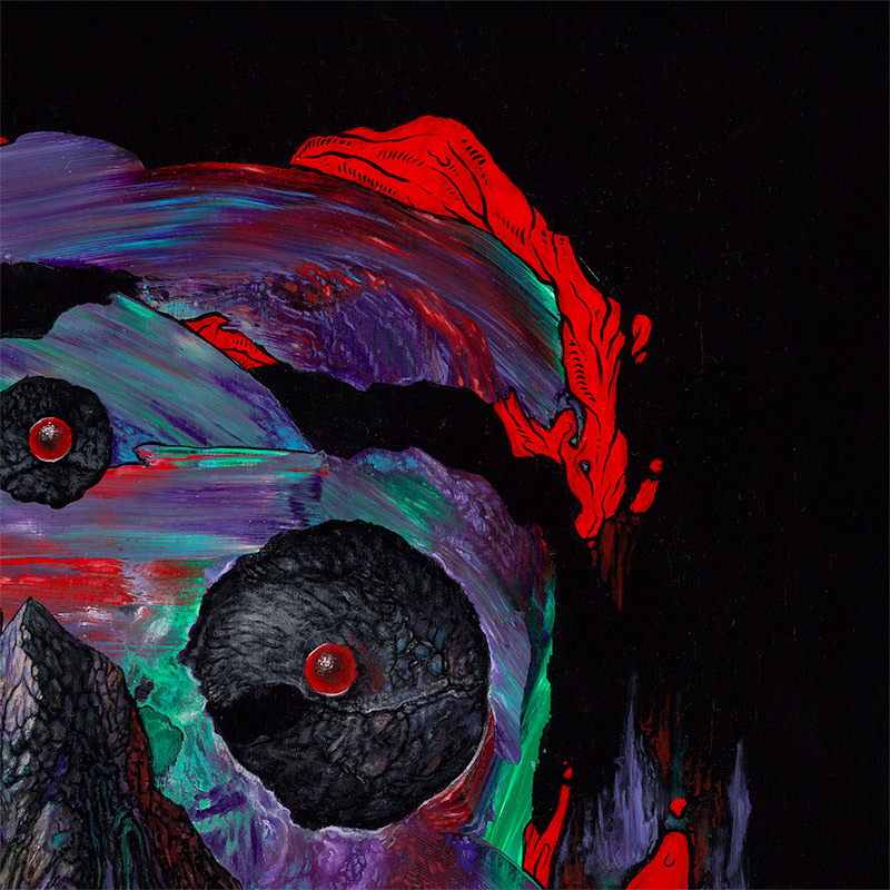 Anthony Hurd - Currently In Retrograde (Detail 3)