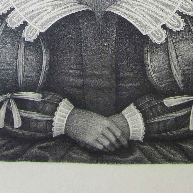 David Alvarez - Peacock (Detail 3)