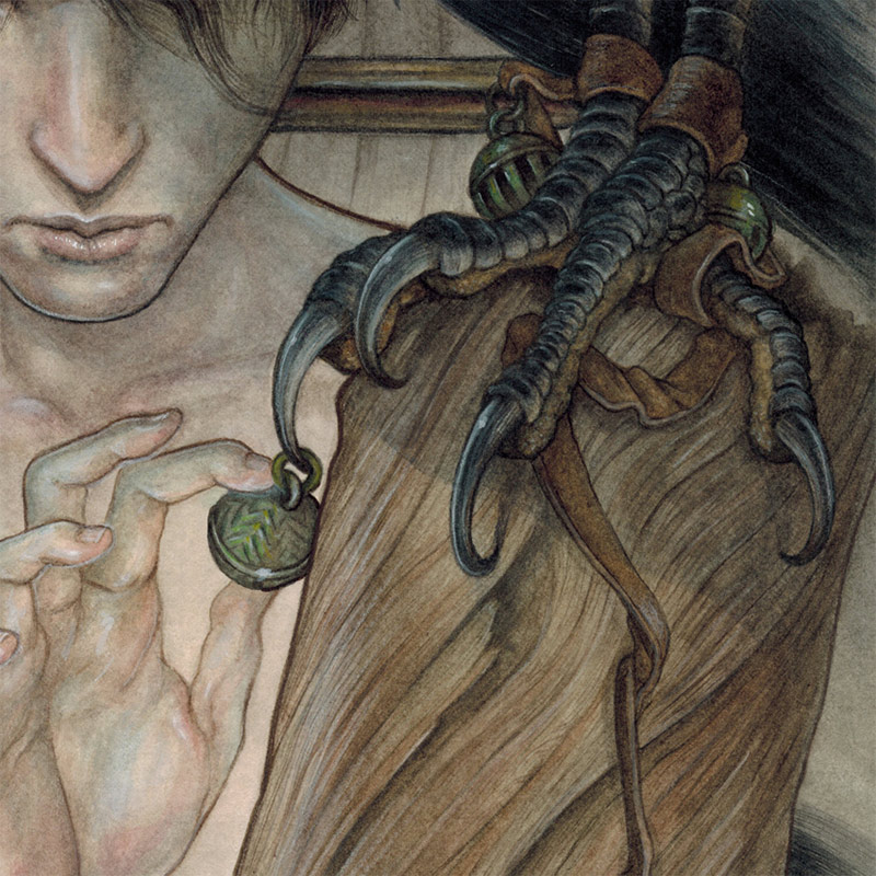 Jason A. Mowry - The Boy and the Bell (Detail 2)