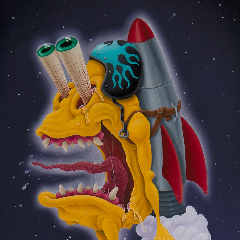 Jay Hollopeter - Planet Hopping (Detail 1)