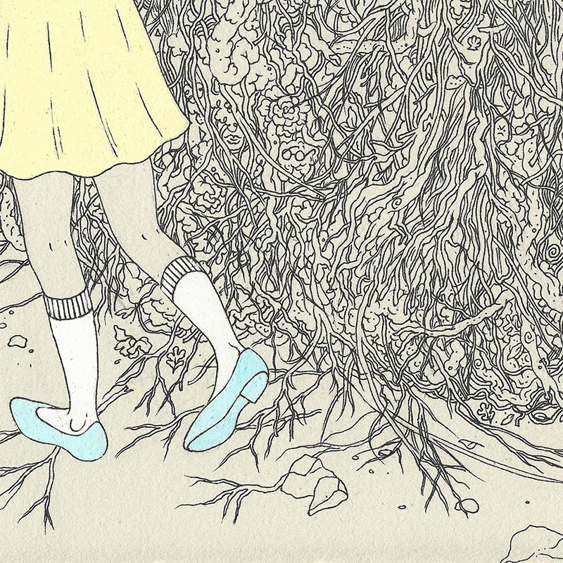 Jenna Andersen - Roots (Detail 3)
