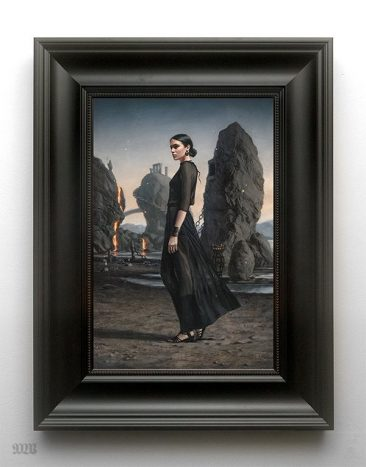 Tom Bagshaw - Cast Away I (Framed)