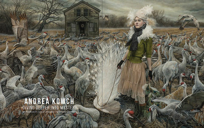 WOW x WOW - Andrea Kowch - Beautiful Bizarre Magazine