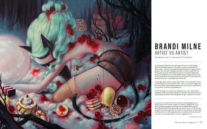 WOW x WOW - Brandi Milne - Beautiful Bizarre Magazine