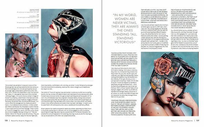 WOW x WOW - Brian Viveros - Beautiful Bizarre Magazine