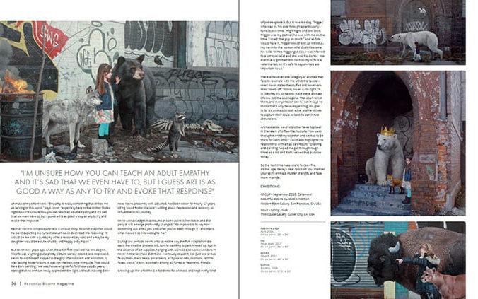 WOW x WOW - Kevin Peterson - Beautiful Bizarre Magazine