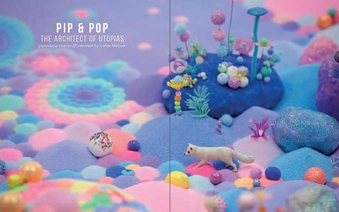 WOW x WOW - Pip & Pop - Beautiful Bizarre Magazine
