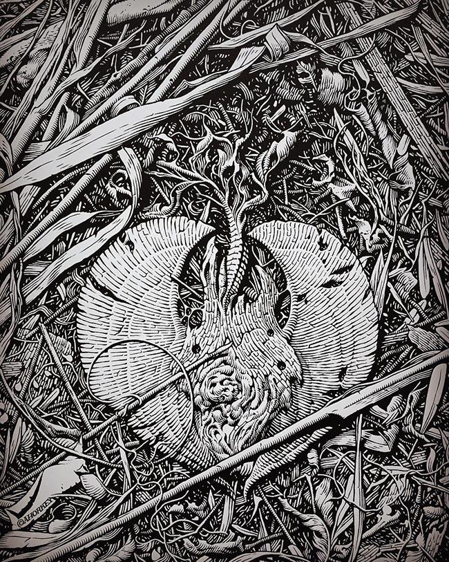 Aaron Horkey - Detritus (Detail)