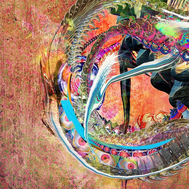 Archan Nair - Crossing Beyond (Detail 4)