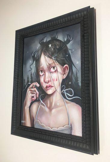 Hanna Jaeun - A Fearful Mind (Framed)