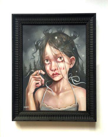 Hanna Jaeun - A Fearful Mind (Framed - Front)