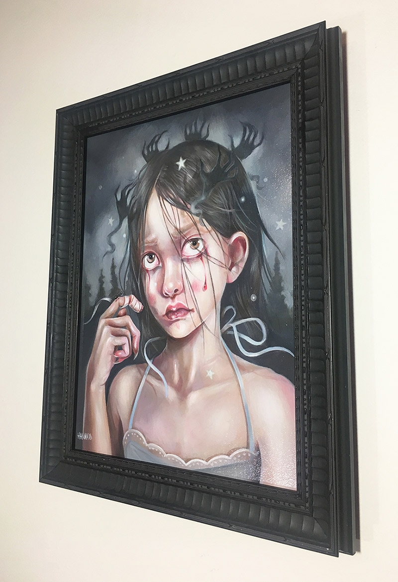 Hanna Jaeun - A Fearful Mind (Framed)