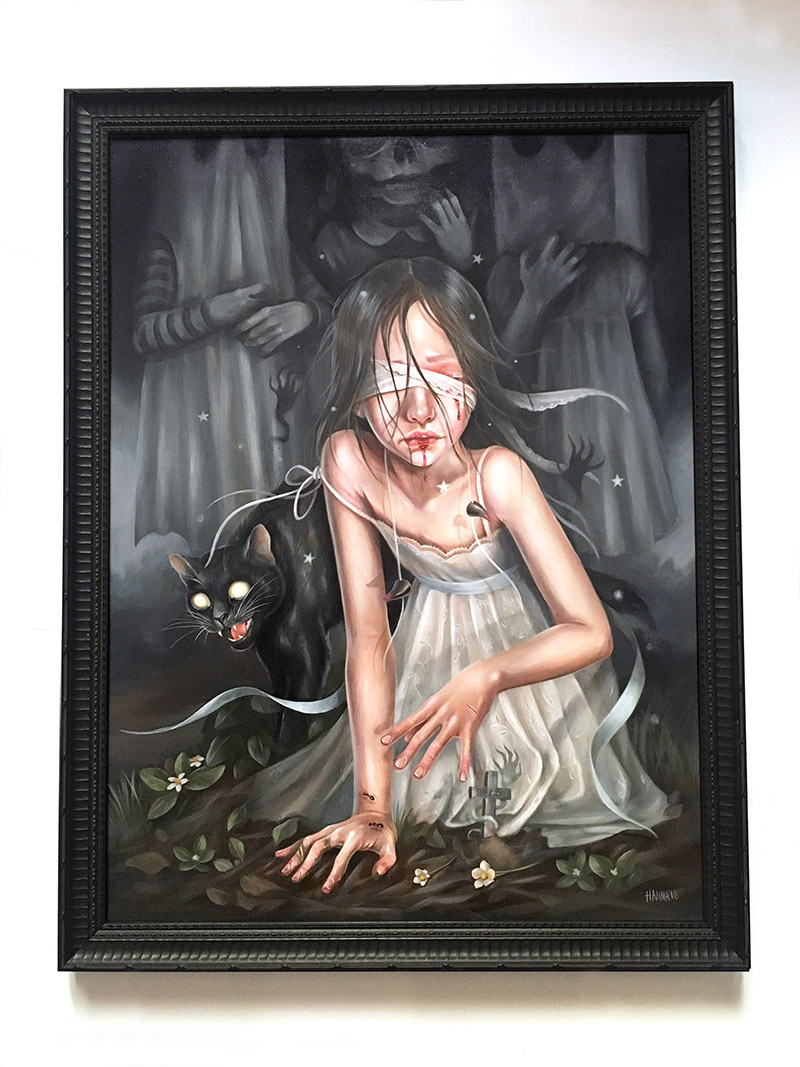 Hanna Jaeun - Buried Under Shadows (Frame - Front)