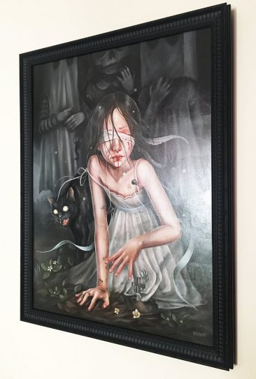 Hanna Jaeun - Buried Under Shadows (Frame - Side)