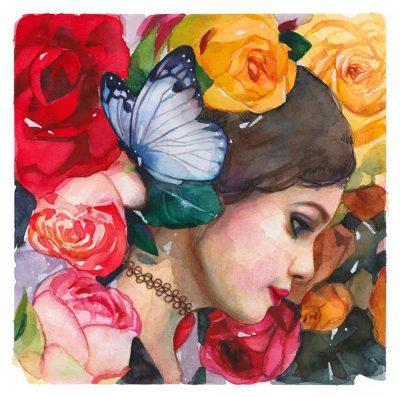 Lioba Bruckner - In the Rose Garden