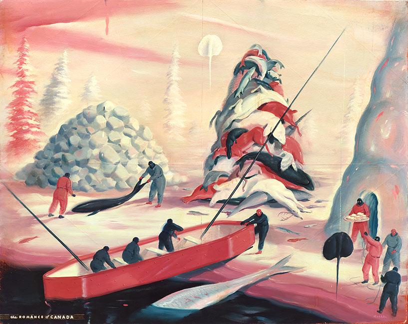 Ryan Heshka - COLOMBO3 Romance of Canada
