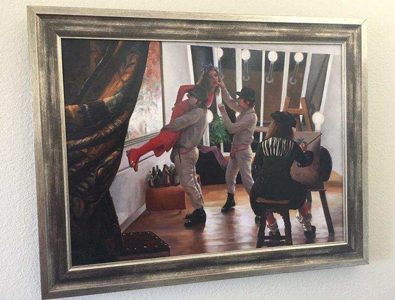 Vincent Cacciotti - Allegory of Mayhem (Framed - Front)