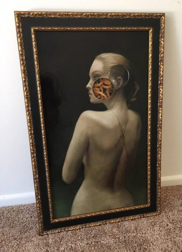 Vincent Cacciotti - Time Machine (Framed - Front)