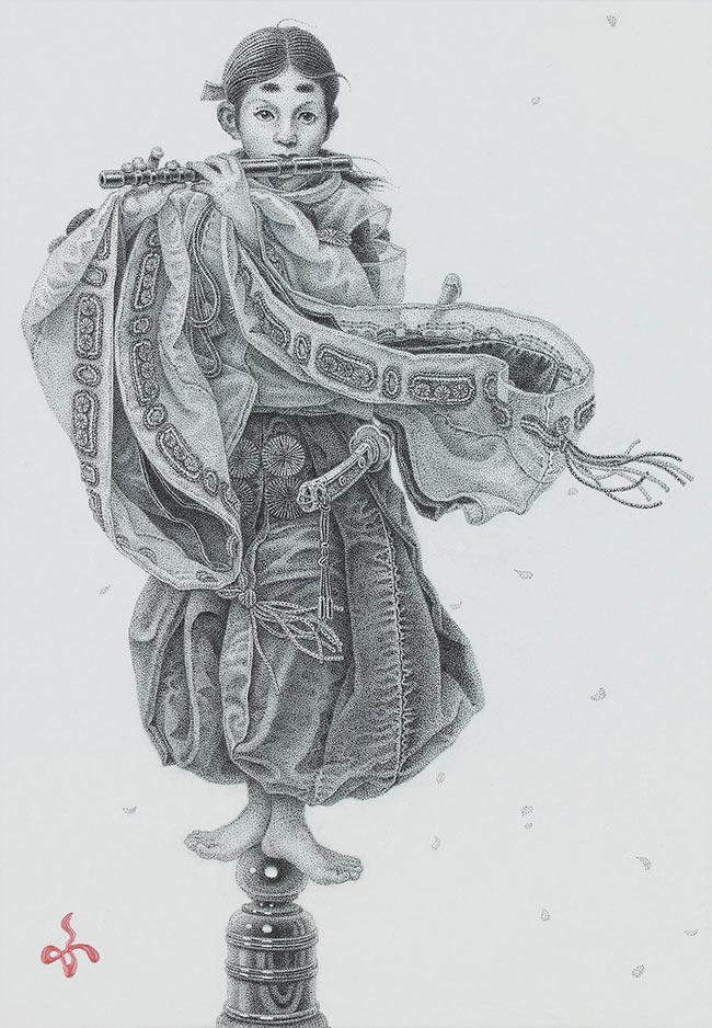 Futaro Mitsuki - Le Joueur de fifre