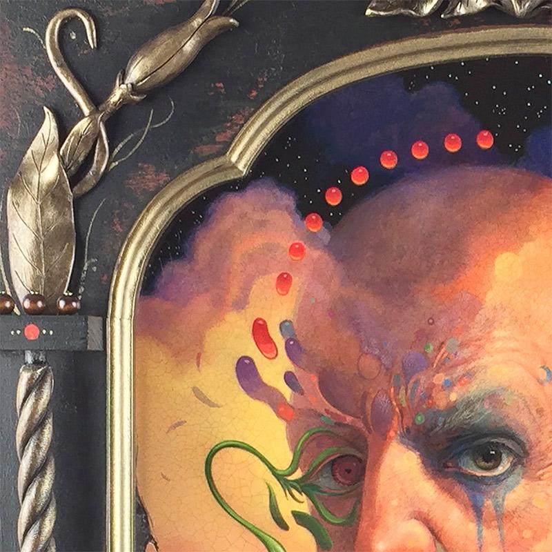 John Walker - Portrait of a Mystic (Detail 1)