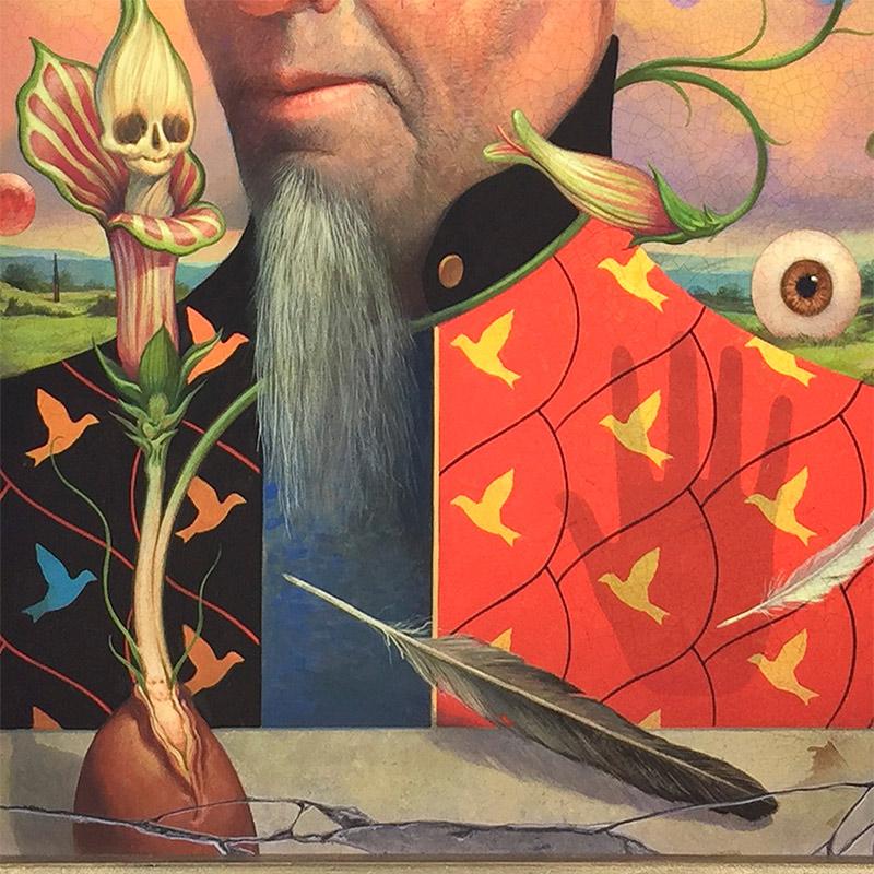 John Walker - Portrait of a Mystic (Detail 2)