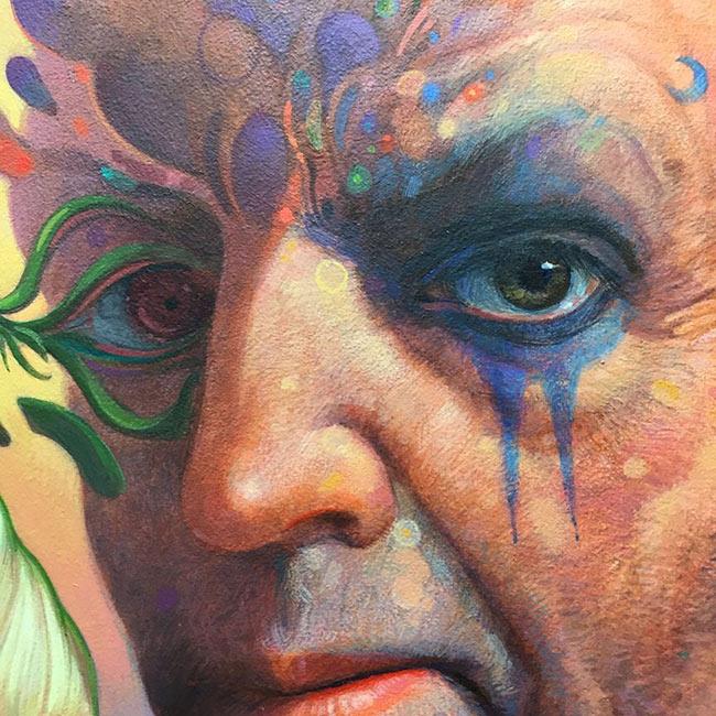 John Walker - Portrait of a Mystic (WIP)