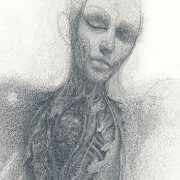 John Walker - Torso Drawing 1 (Detail 1)