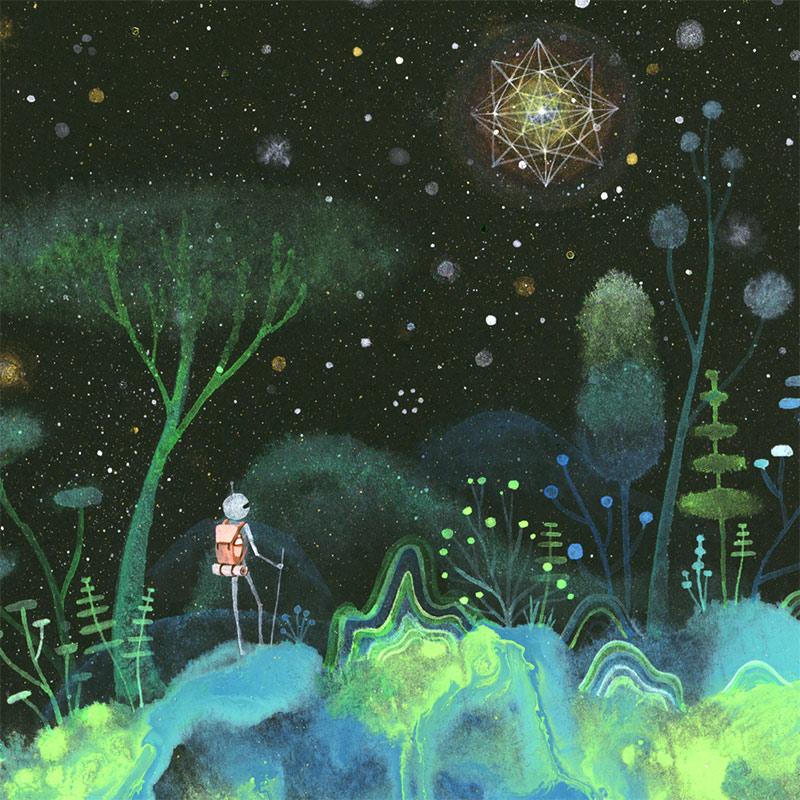 Aaron Piland - Starlight (Detail)