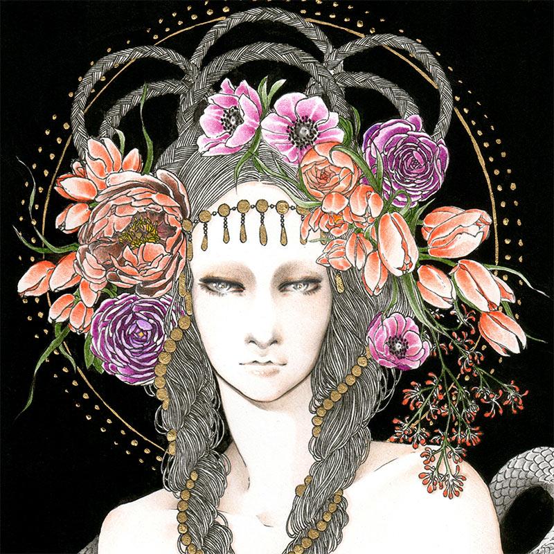 Andi Soto - Temptress (Detail 1)