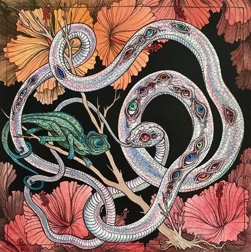 Caitlin Hackett - Visions from the Lost Garden